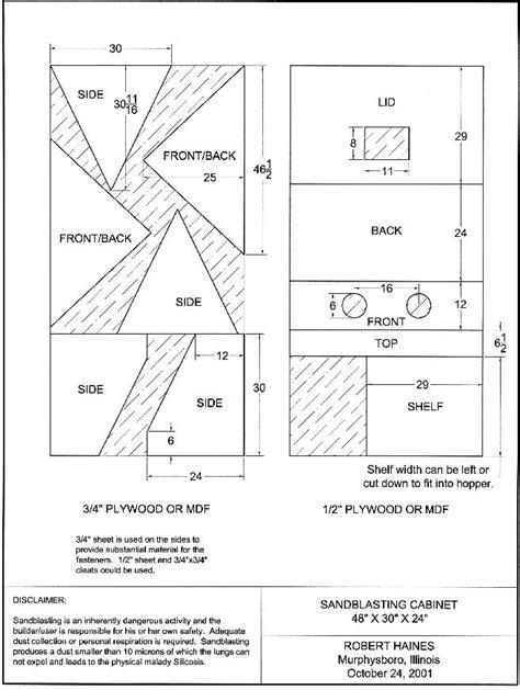 Build-Sandblasting-Cabinet-Plans