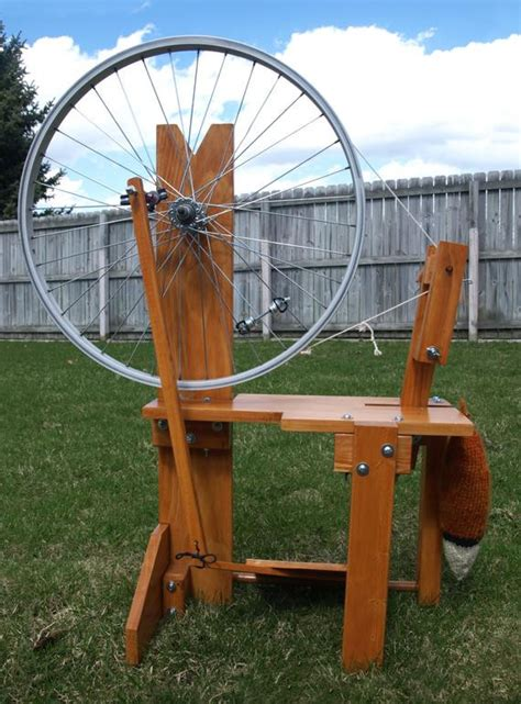 Build-Spinning-Wheel-Plans