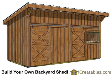 Build-Your-Own-Horse-Barn-Plans