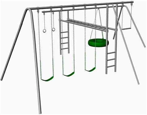 Build-Your-Own-Metal-Swing-Set-Plans
