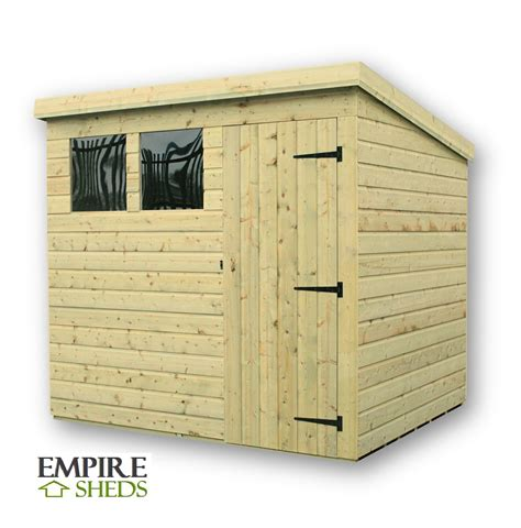 Build-Your-Own-Pent-Shed-Plans