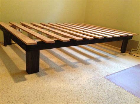 Build-Your-Own-Platform-Bed-Frame-Plans