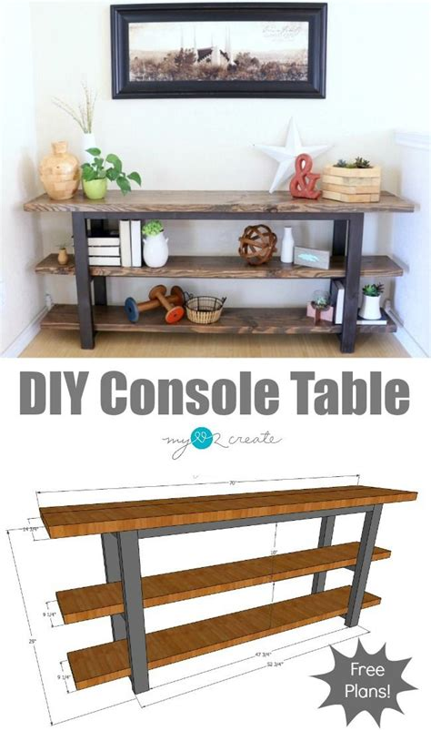 Build-Your-Own-Sofa-Table-Plans