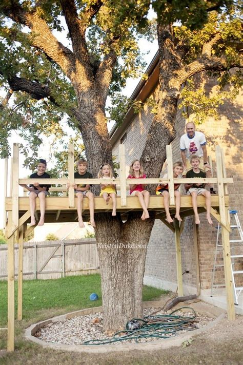 Build-Your-Own-Treehouse-Plans