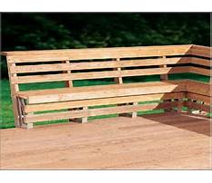 Best Build a bench seat with slanted back