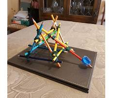 Best Build a catapult with pencils