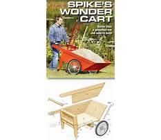 Best Build a garden cart plans