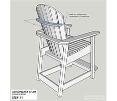 Best Build adirondack bar chair plans.aspx
