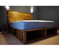 Best Build queen bed platform