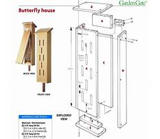 Best Build simple butterfly house design