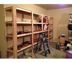 Best Build sturdy garage shelving