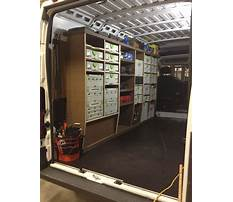 Best Build wood shelves in a ram promaster
