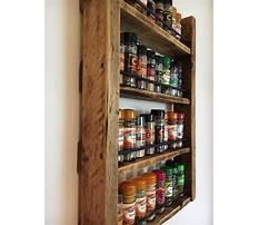 Best Build wood spice rack