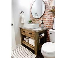 Best Build your own bathroom vanity table