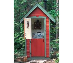 Best Build your own outhouse plans