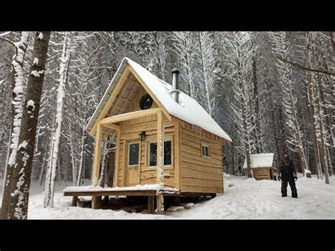 Building A Cabin In The Woods Youtube