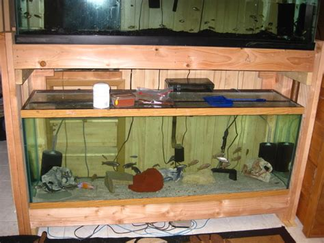 Building A Double Fish Tank Stand