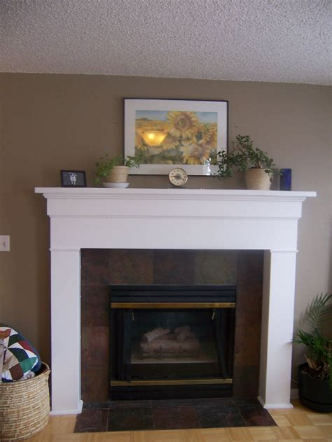 Building A Fireplace Surround And Mantel Images