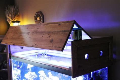 Building A Fish Tank Canopy Design