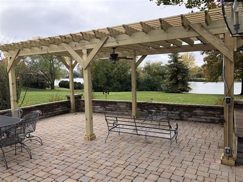 Building A Freestanding Pergola Kit