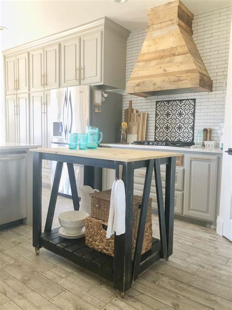 Building A Kitchen Island Cart