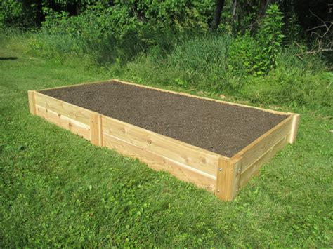 Building A Raised Garden Bed With 4 X 4