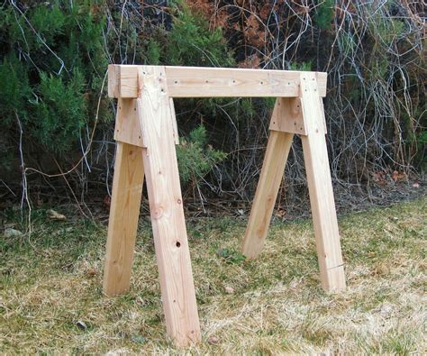 Building A Sawhorse For Chainsaw