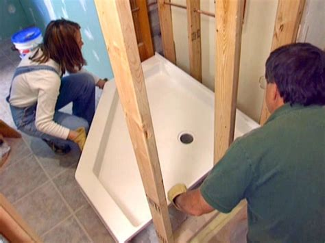 Building A Stand Up Shower Base