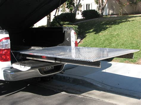 Building A Truck Bed Slide Out