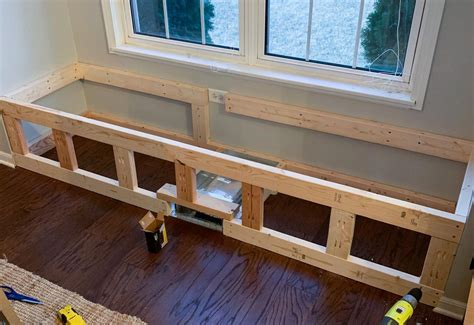 Building A Window Seat Bench With Storage