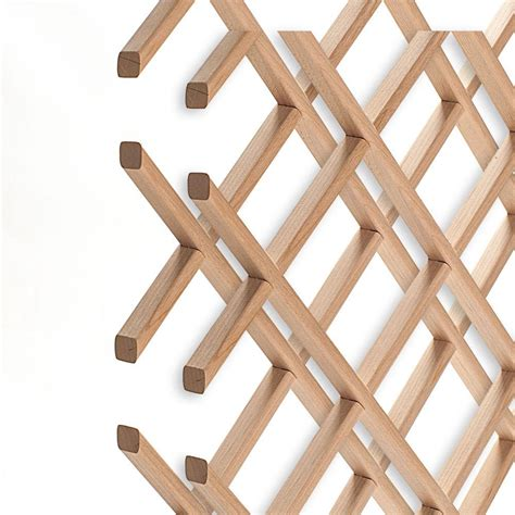 Building A Wine Rack Lattice Panels