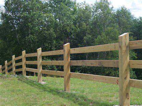 Building A Wooden Fence For Cattle