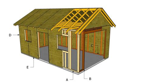 Building A Wooden Garage Plans