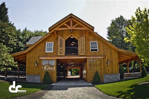 Building Barn Styles And Plans