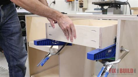 Building Base Cabinets With Kreg Jig