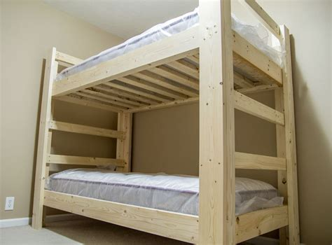 Building Bunk Beds With 2x6