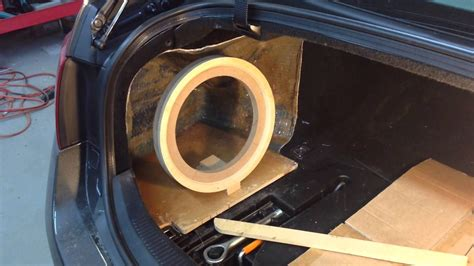 Building Custom Fiberglass Subwoofer Box