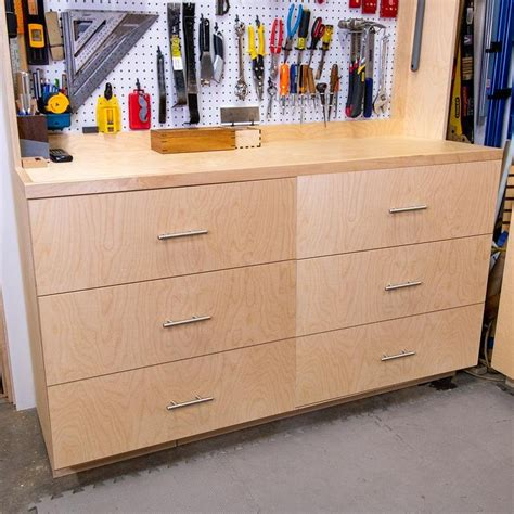Building Drawers For Cabinets