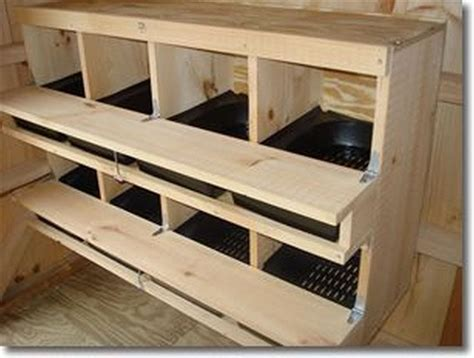 Building Nesting Boxes For Hens