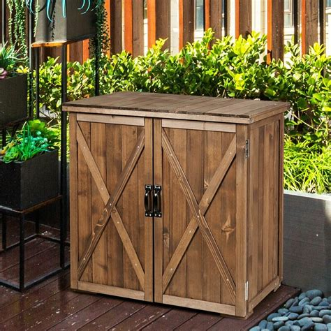 Building Outdoor Wood Cabinets