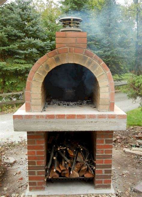 Building Outdoor Wood Fired Oven