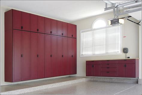 Building Plans California Garage Cabinets