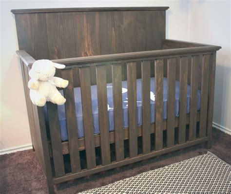 Building Plans For A Baby Crib