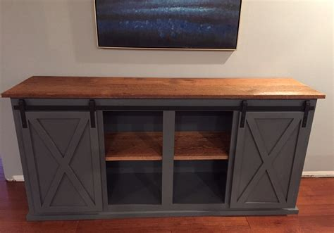 Building Plans For A Two Center Door Buffet