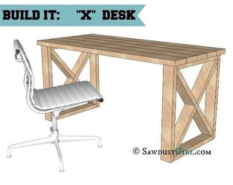 Building Plans For Office Desk