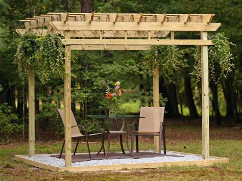 Building Plans For Wooden Arbors DIY Network