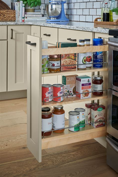 Building Pull Out Spice Rack