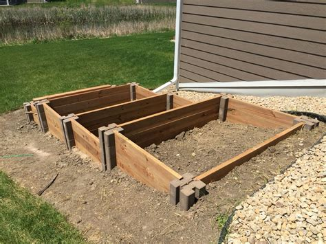 Building Raised Garden Beds On A Steep Slope