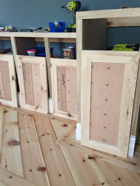 Building Shaker Kitchen Cabinet Doors