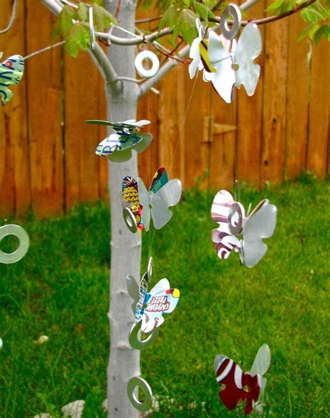 Building Soda Can Wind Chimes